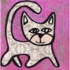 Happy Kitty by Jen Kelly Hirai