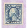 US # 347 DLWK MINT NH  IMPERFERATE ((LIGHT CREASE)) M1671