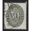 1927  GERMANY   30 Pfennig   official issue  used, Scott # O77