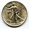 1943 Gembu Walking Liberty Half Dollar