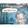 33 RPM:  #423.. 1955 NAT KING COLE - UNFORGETTABLE / CAPITOL T357 .. VG/VG+ ..