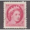 USED CANADA #339 (1954)