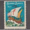 USED 1929 CANADA CHRISTMAS SEAL
