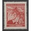 1939 BOHEMIA & MORAVIA  20 h.  WW II German occupation mint**, Scott # 22