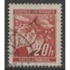 1939 BOHEMIA & MORAVIA  20 h. Linden Leaves  German occupation used, Scott # 22