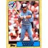 Damaso Garcia #395 - Blue Jays - Topps 1987 card