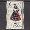 USED SPAIN #1396 (1967)