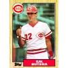 Sal Butera #358 - Reds - Topps 1987 card