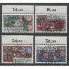 1985 GERMANY  complete set semi postal issues  used, Scott # B636-B639