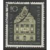 1957 GERMANY  10 Pf.  Wurttemberg Landtag  used,  Scott # 778