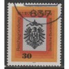 1971 GERMANY  30 Pf.  Imperial Eagle  used, Scott # 1052