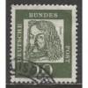 1961 GERMANY  10 Pf.  Albrecht Dürer, ordinary paper  used,  Scott # 827