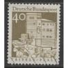 1967 GERMANY  40 Pf.  Trifels Fortress, Palatinate  used,  Scott # 942