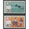 1974 GERMANY  World Cup Soccer Championship set  mint**, Scott # 1146-1147
