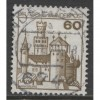 1977 GERMANY  60 Pf. Castle type  used, Scott # 1237