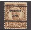 USED SCOTT #684 WITH HARTFORD, CONN.. PRECANCEL