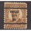 USED SCOTT #684 WITH KANSAS CITY, MO. PRECANCEL