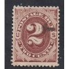 US  #J16 USED (red brown) SEE SCAN FAIR LT CREASE CONDITION M 1778