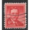 USA, Scott 1039, Theodore Roosevelt, used single, 1954-1968