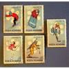 "1971  Romania  11th Winter Olympics in Sapporo""  Stamps"