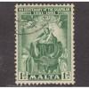 USED MALTA #232 (1951)