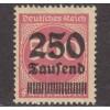 UNUSED/NH GERMANY #259 (1923)