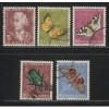 1957  SWITZERLAND  Pro Juventute semi postal set used, Scott # B267-B271