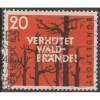 USED GERMANY #782 (1958)
