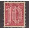 UNUSED GERMANY #O2 (1920)