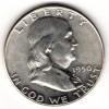 1950 Chbu FBL Franklin Half Dollar