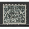1918  German States BAVARIA  60 Pfennig  official with op mint**, Scott # O30