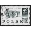 Poland - Scott #1620 CTO - With Gum - Hinged (3)