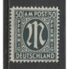 1945 Germany  50 Pf.  A.M.G.  issue Brunswick Printing  mint*, Scott # 3N17
