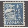 USED DENMARK #238J (1940)