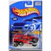 Hot Wheels - XS-IVE: 2001 First Editions #28/36 - Collector #040 *Red Edition*