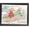 ICELAND 676 Europa 1989 CV = 1.50$