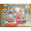 2012 Springbok Frosty's Toy Box Jigsaw Puzzle 500 PCS By Allied Winter Holiday