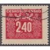 USED (CTO) CZECHOSLOVAKIA #J78 (1946)