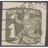 USED CZECHOSLOVAKIA #P35 (1945)