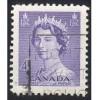 Canada 328 Elizabeth II Karsh 4c Violet CV = 0.20$