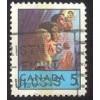 Canada 502p Christmas 1969 Tagged CV = 0.20$