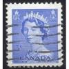 Canada 329 Elizabeth II Karsh 5c Blue CV = 0.20$