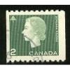Canada 406 Elizabeth II Cameo 2c Coil MINT CV = 1.75$