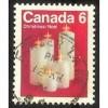 Canada 606 Christmas 1972 Candles CV = 0.20$