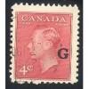 Canada o19 George VI G Overprint CV = 0.20$