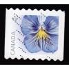 Canada 2810 Flower: Blue Coil