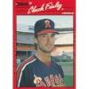 1990 Donruss Chuck Finley Trading Card No. 344 – VF