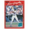 1990 Donruss Juan Gonzalez Rookie Trading Card No. 33 – FN
