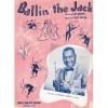 JONAH JONES ~ BALLIN' THE JACK ~ SHEET MUSIC *