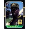 R.J. Reynolds 1987 Donruss Baseball Card Pittsburgh Pirates